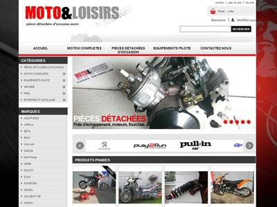 Site Internet Motos et Loisirs