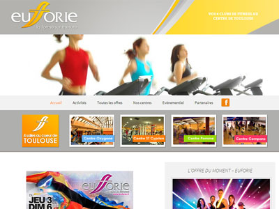 Site Internet Euforie