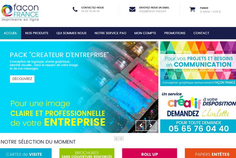 Conception Site Facon France