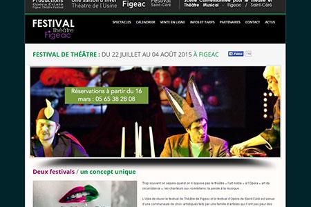 Site Intenet Festival Figeac