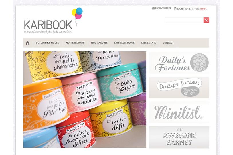 Karibook - Boutique en ligne