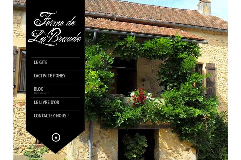 Création site internet location de gîte
