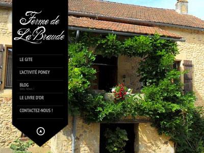 Site Internet La Braude