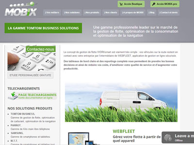 Site Internet Mobix consulting