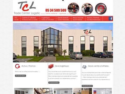Site Internet TCL Logistique
