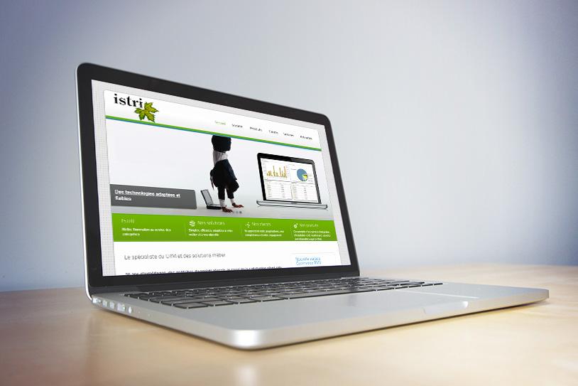 Création de site internet pour Istri