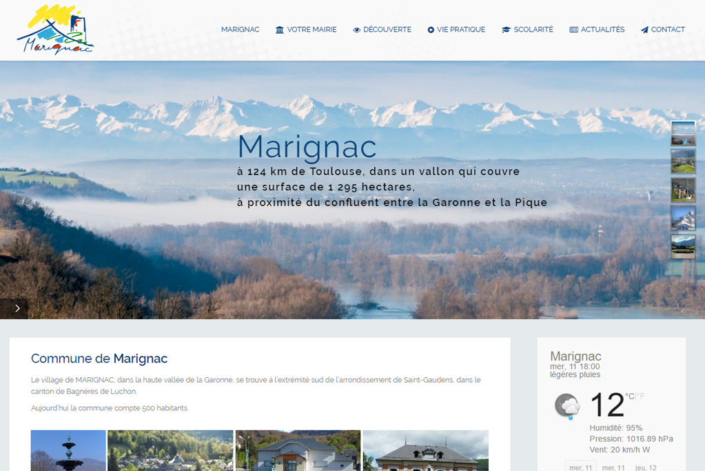 Mairie de Marignac