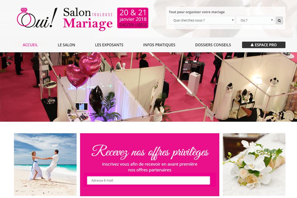 Création site internet Salon Mariage Toulouse