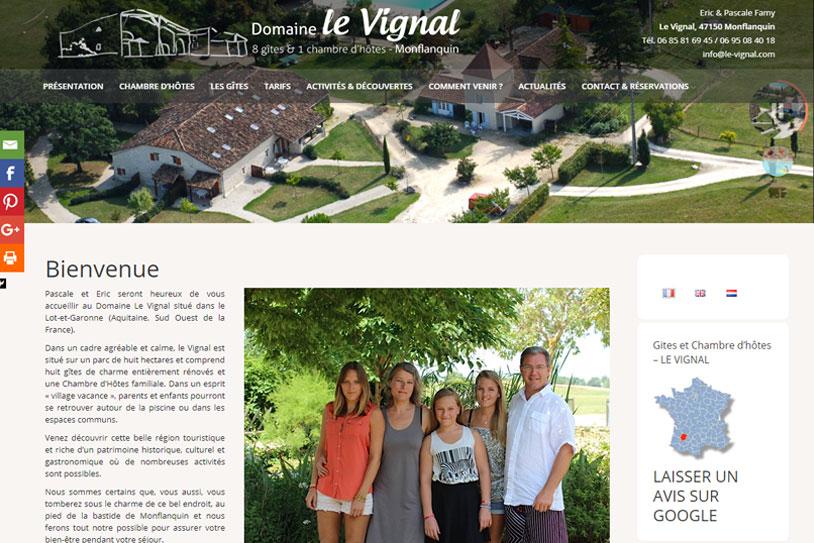 Le vignal - Chambres d'hotes et gite à Montflanquin