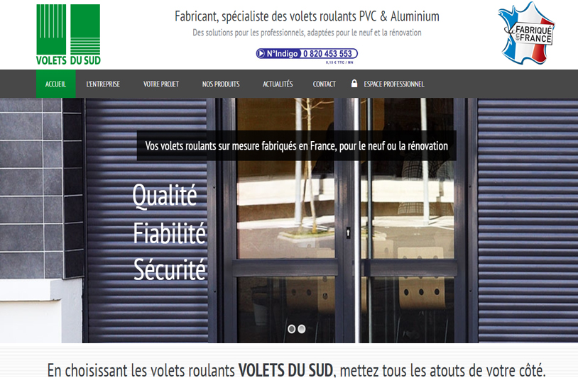 Volets du Sud - Fabricant volets roulants