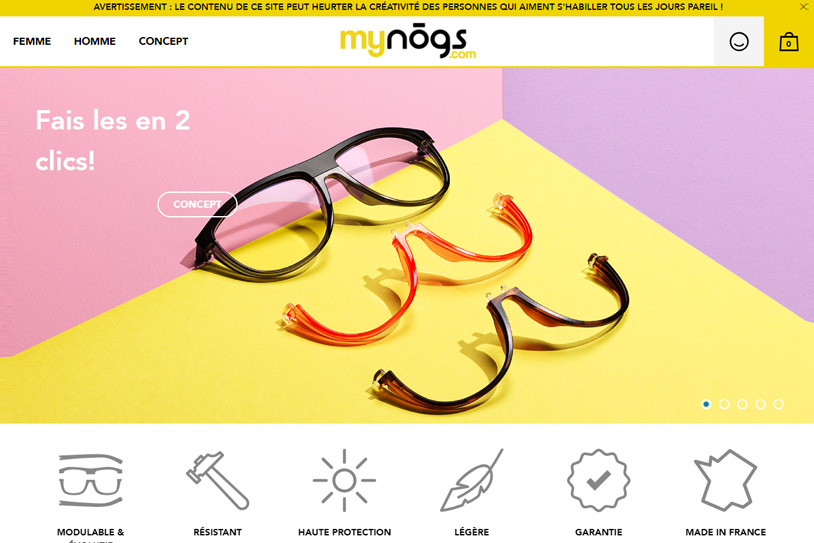 Nogs Woocommerce personnalisation